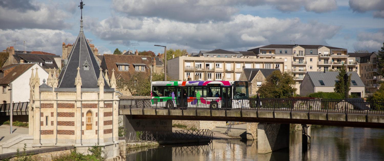 Alto bus en ville à Alençon réseau urbain