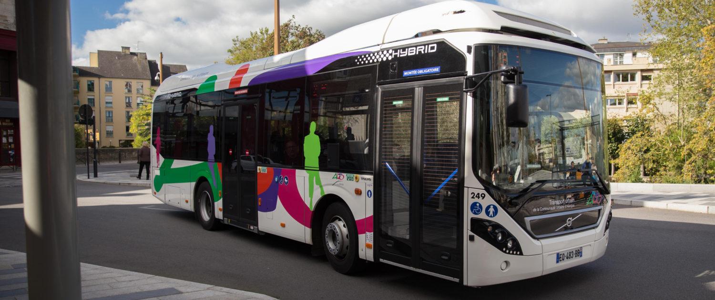 Bus de ville Alençon réseau urbaine